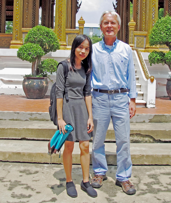 Noe Noe Kyaw und Dr. Geiger